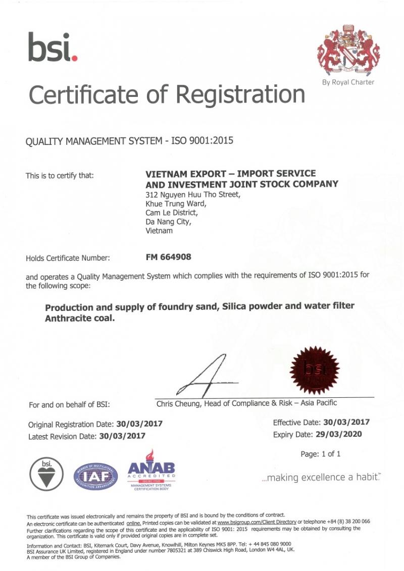 Certificate of merit – Certificate