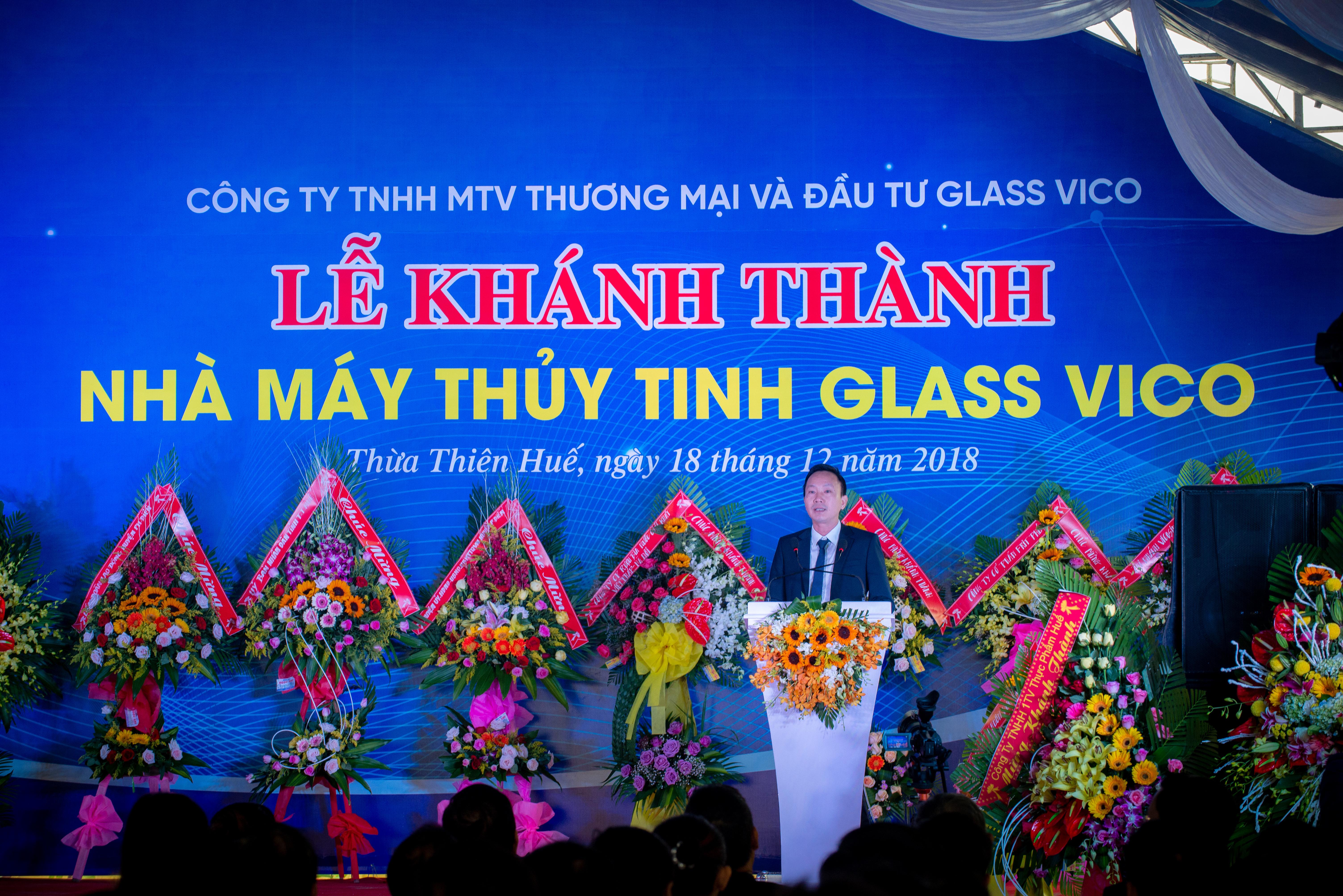 Inauguration of GlassVico