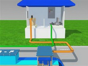 Researching to improve fast filter tank 1 layer into fast filter tank 2 layers of filter materials